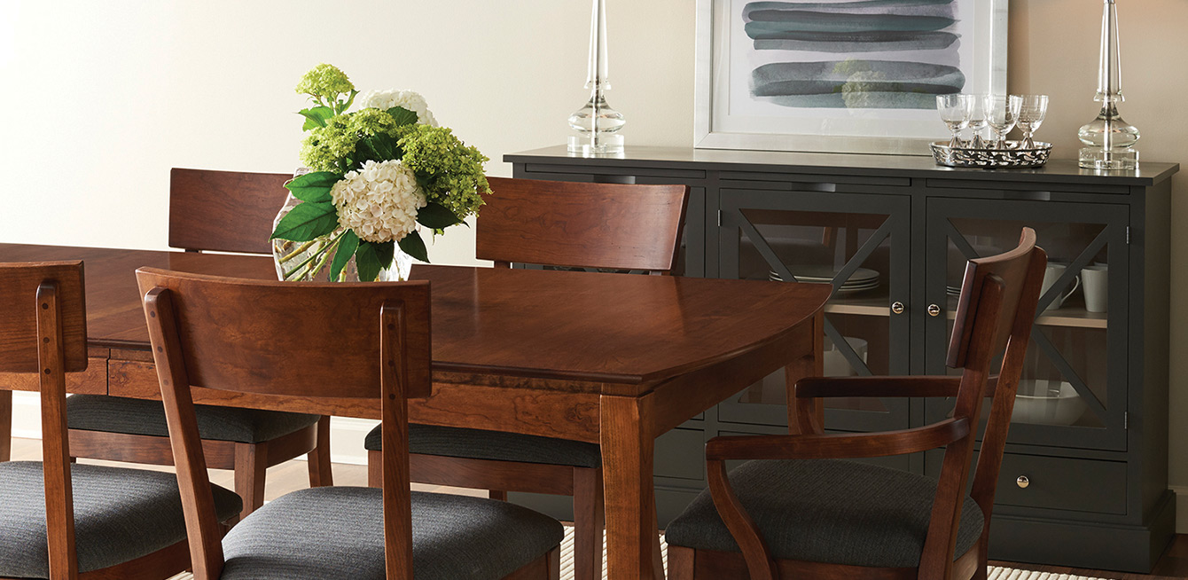 Photo of Gat Creek dining room furniture